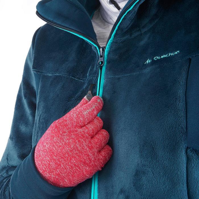 Veste polaire de randonnée montagne femme Forclaz 500 - 1173576