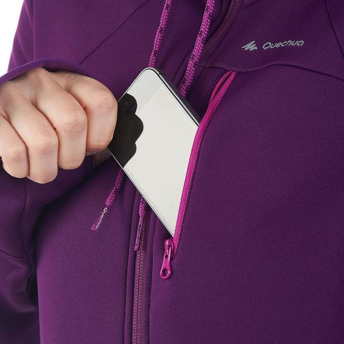 Veste polaire de randonnée montagne femme Forclaz 400 stretch - 1173577