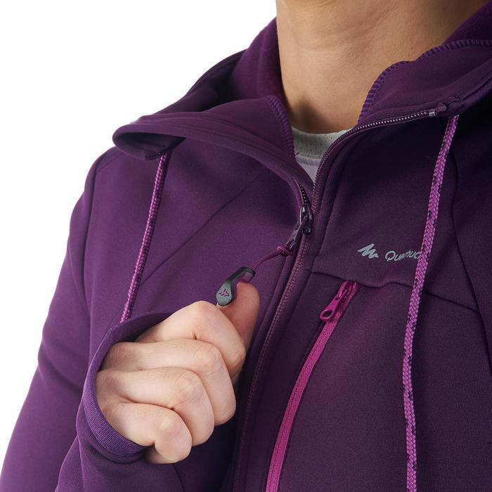 Veste polaire de randonnée montagne femme Forclaz 400 stretch - 1173579