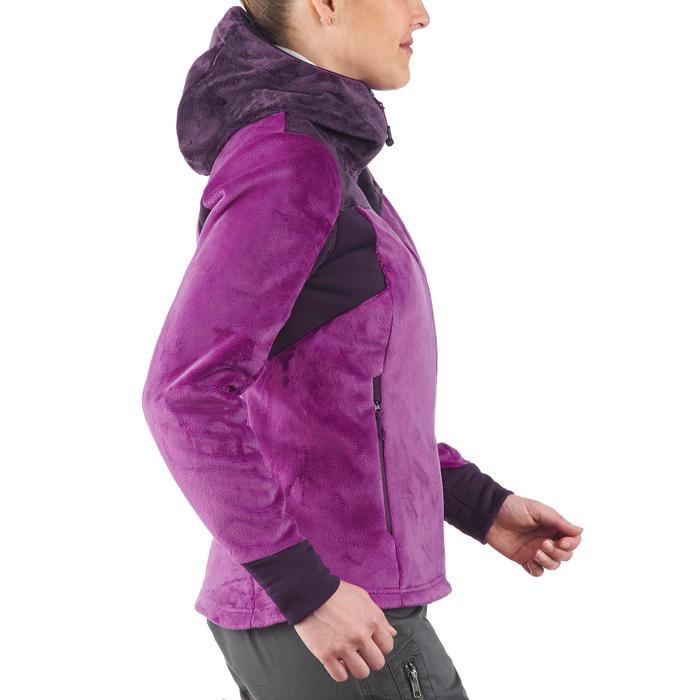 Veste polaire de randonnée montagne femme Forclaz 500 - 1173583