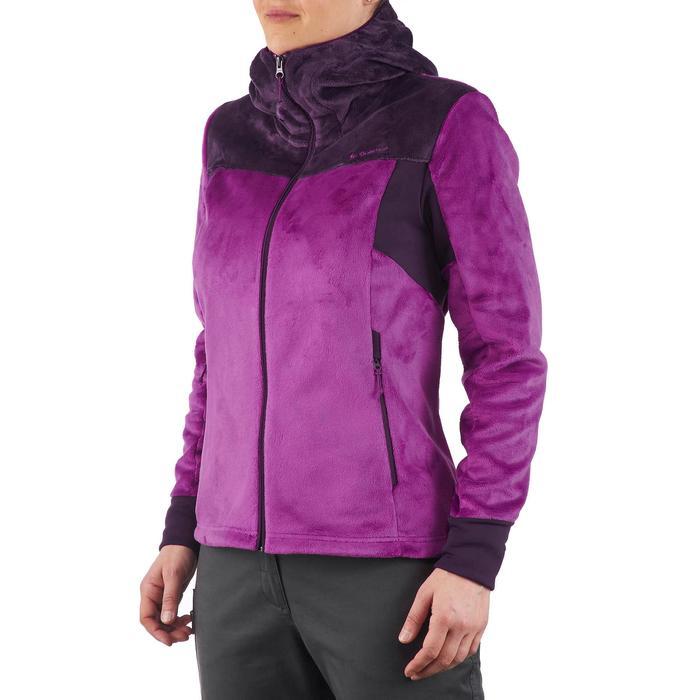 Veste polaire de randonnée montagne femme Forclaz 500 - 1173584