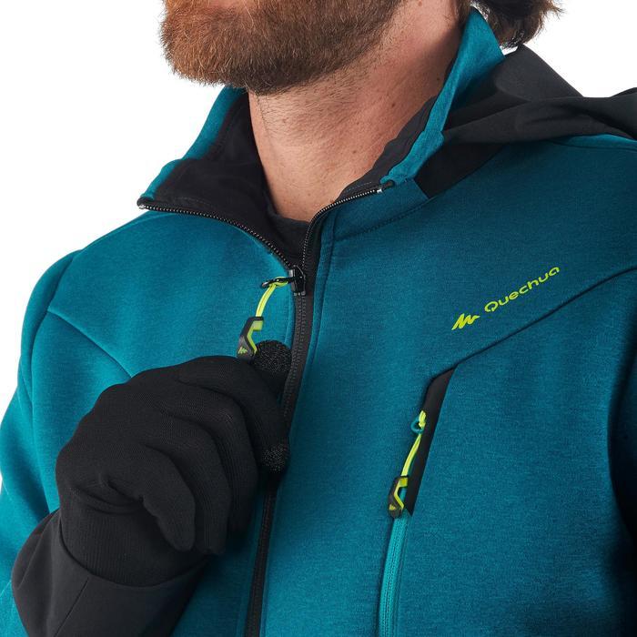 Herenfleece voor bergwandelen MH920 turquoise