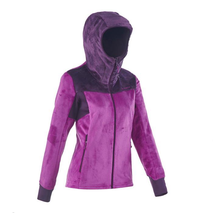 Veste polaire de randonnée montagne femme Forclaz 500 - 1173617