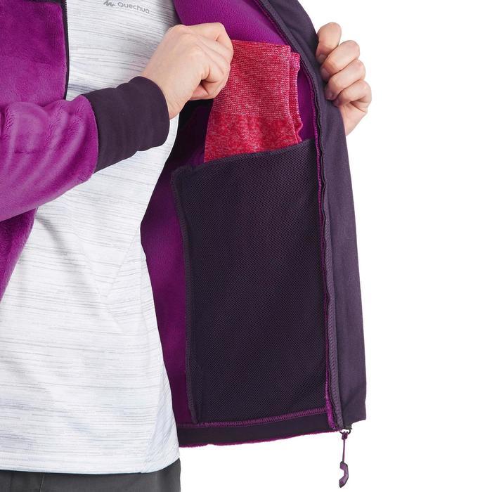 Veste polaire de randonnée montagne femme Forclaz 500 - 1173630