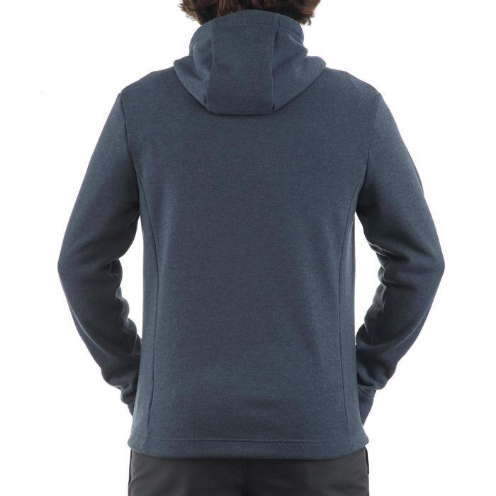 Men's nature hike pullover Arpenaz Hybrid brown - 1173668