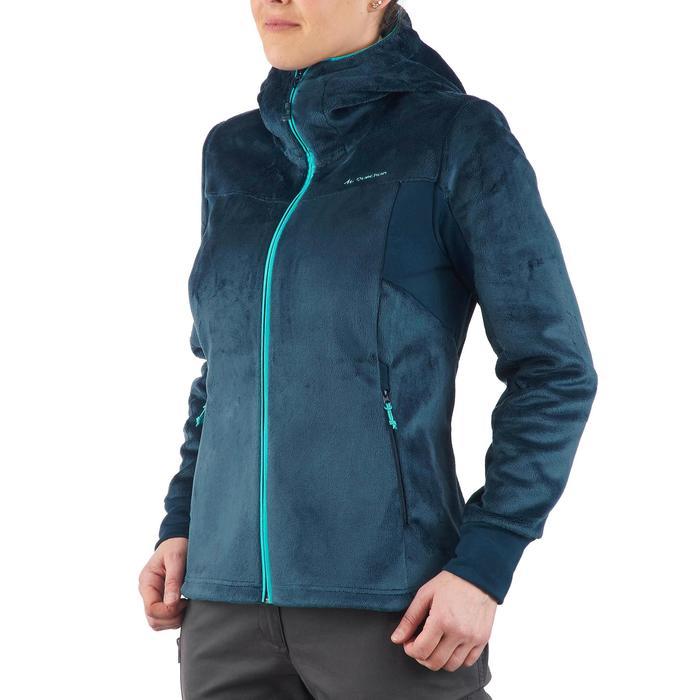 Veste polaire de randonnée montagne femme Forclaz 500 - 1173680
