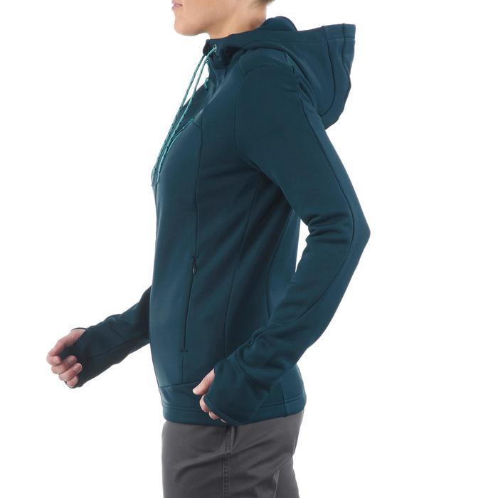Veste polaire de randonnée montagne femme Forclaz 400 stretch - 1173690