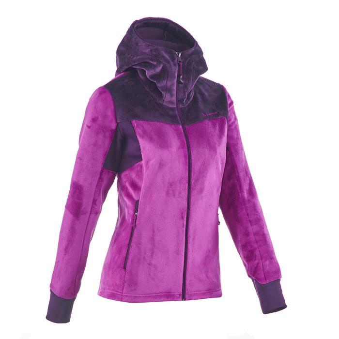 Veste polaire de randonnée montagne femme Forclaz 500 - 1173694