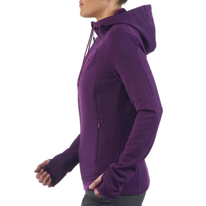 Veste polaire de randonnée montagne femme Forclaz 400 stretch - 1173706