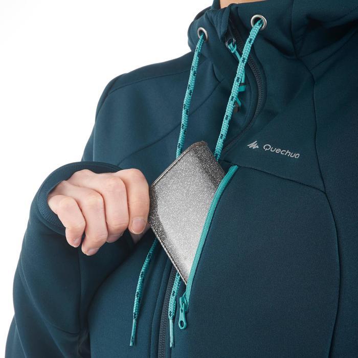 Veste polaire de randonnée montagne femme Forclaz 400 stretch - 1173713
