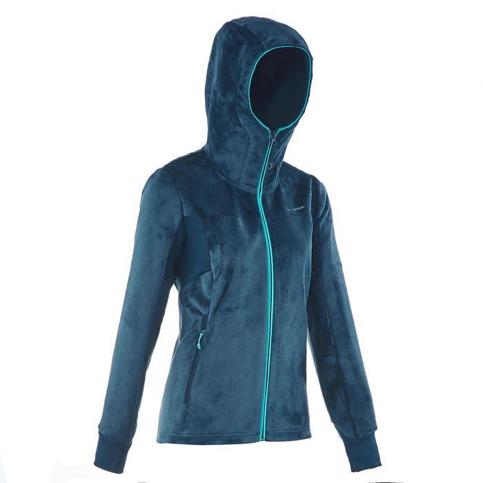 Veste polaire de randonnée montagne femme Forclaz 500 - 1173725