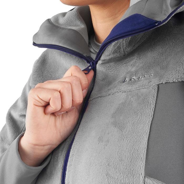 Veste polaire de randonnée montagne femme MH520 - 1173791