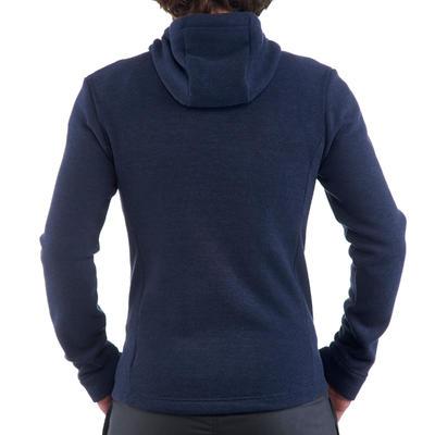 סוודר הליכה היברידי לגברים NH500 - כחול צי