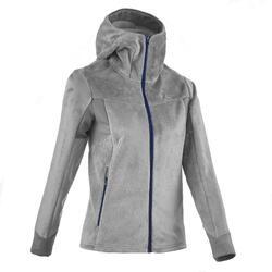 Forclaz 500 Women's Mountain Hiking Fleece - Grey