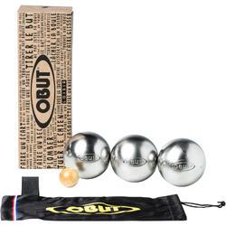 Recreatieve jeu de boules ballen roestvrij staal Salamandre