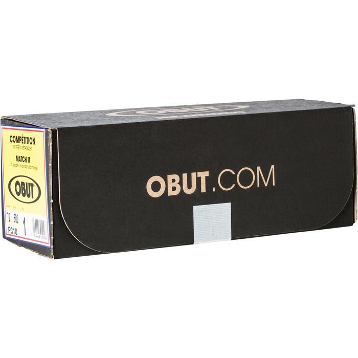 3 petanqueballen voor competitie Obut Match It