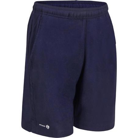 Дитячі тенісні шорти 100 – Темно-сині
