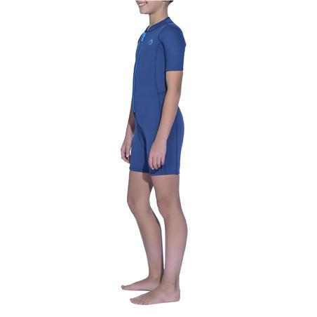 Гидрокостюм для снорклинга короткий 2 мм для детей