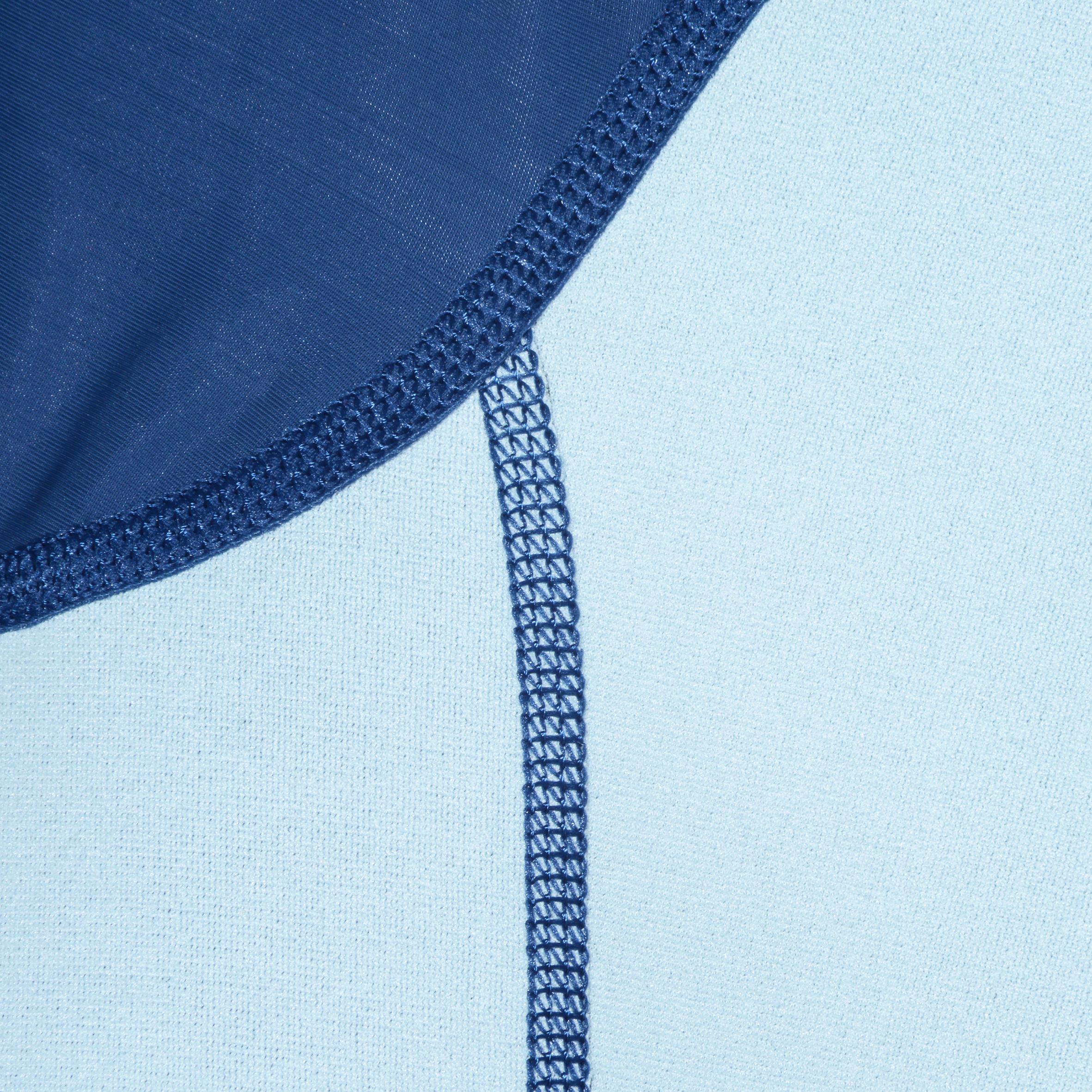 Haut de snorkeling 1,5 mm SNK 100 homme bleu foncé