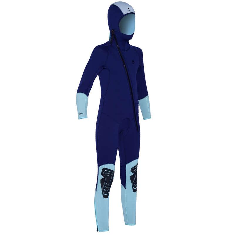 SCD SUITS 16/24° Scuba Diving - Kids' 5.5mm Wetsuit SCD 100 SUBEA - Scuba Diving