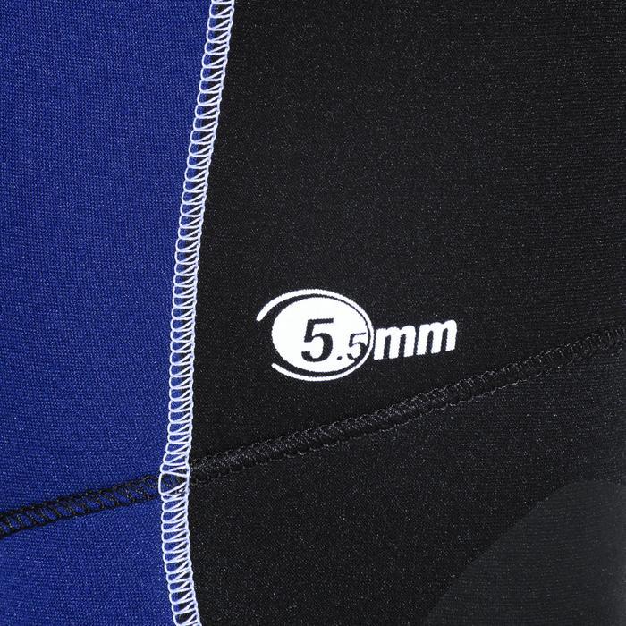 Long john voor heren voor diepzeeduiken SCD 100 neopreen 5,5 mm
