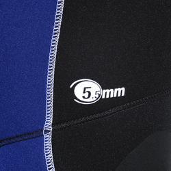 Neoprenhose Latzhose Tauchen Neopren 5,5mm Herren