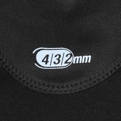 Neoprenhaube Tauchen SCD 4/3/2mm