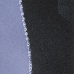 Duikvest SPF 100 voor harpoenvissen en vrijduiken, 5 mm, zwart/grijs - 1175257