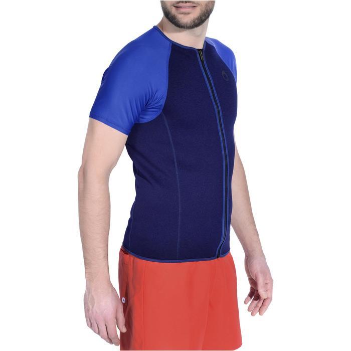 Top de snorkeling 1,5mm SNK 100 homme bleu foncé - 1175311