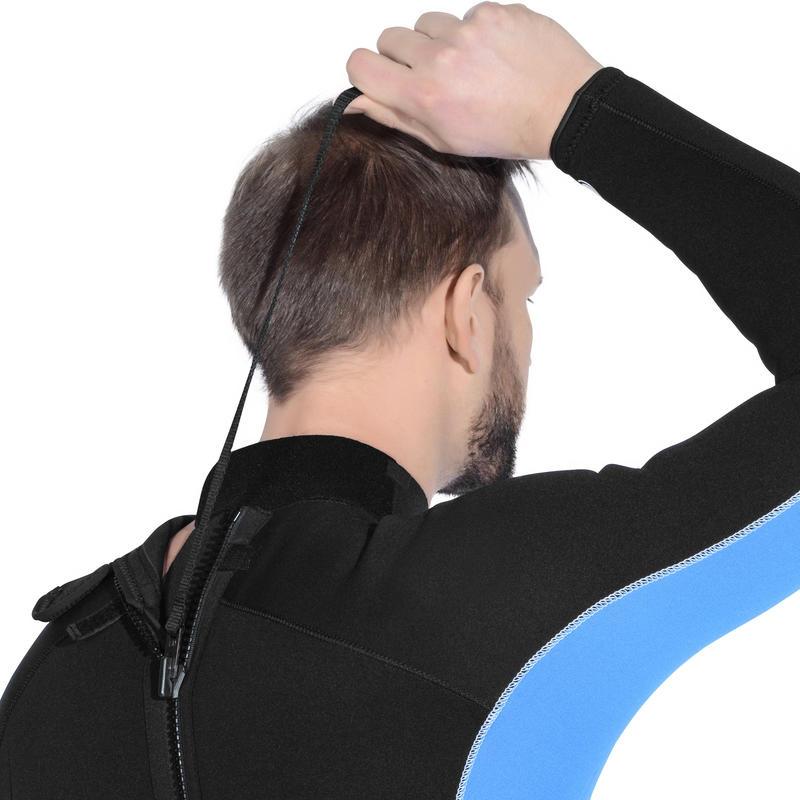 Traje de buceo SCD 100 3 mm hombre con cierre espalda