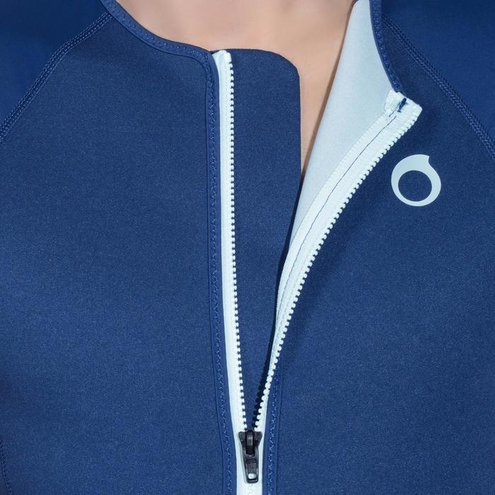 Top Neopreno Protección UV Snorkel Subea SNK500 MC 1,5 mm Hombre Azul Oscuro