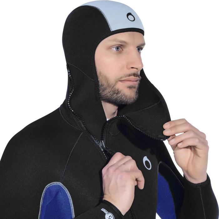 Chaqueta de traje de submarinismo neopreno SCD 100 5,5 mm hombre