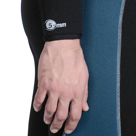 SCD100 scuba diving wetsuit - Men
