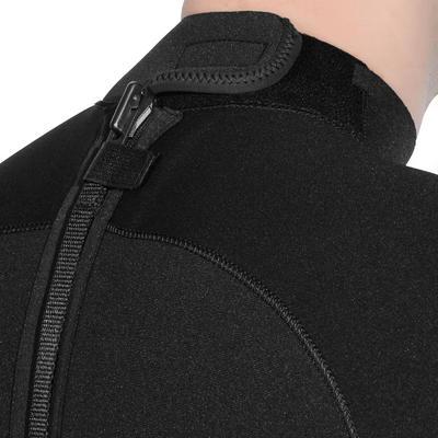 Traje de buceo 3 mm con cierre dorsal Hombre