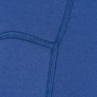 Shorty de plongée avec tuba 2 mm 100 bleu marine - Enfants
