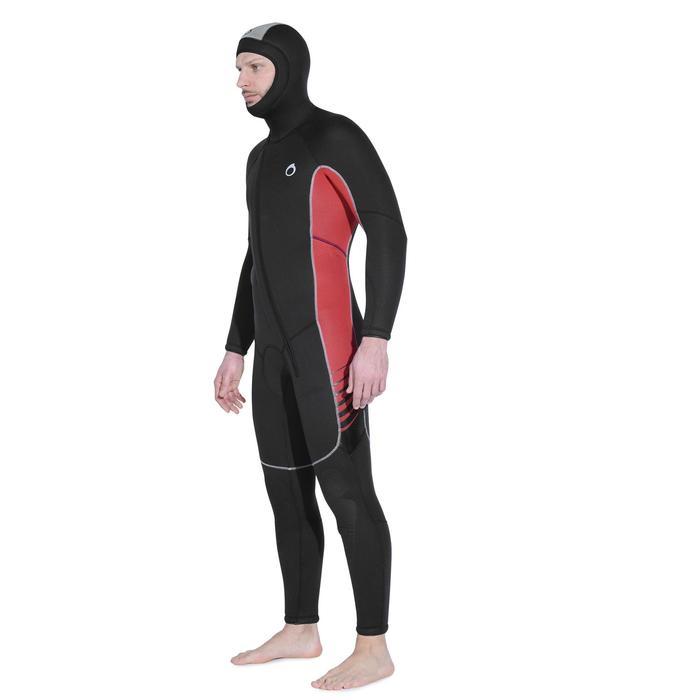 Heren duikpak SCD 100 voor koud water neopreen 7,5 mm