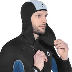 Combinaison de plongée bouteille neoprene SCD 100 5 mm Homme fermeture ventrale
