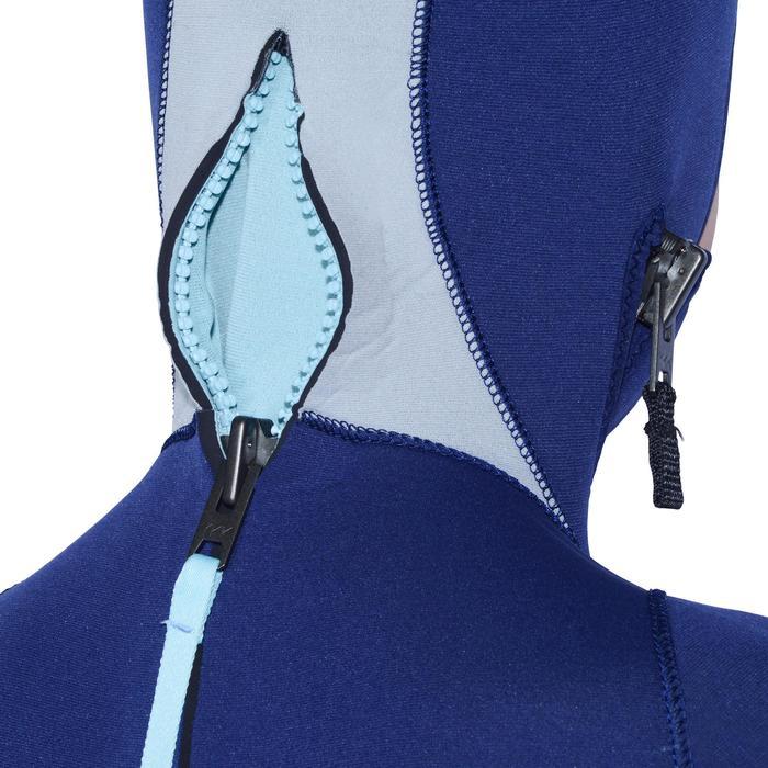 Combinaison de plongée bouteille neoprene SCD 100 5 mm Junior fermeture ventrale