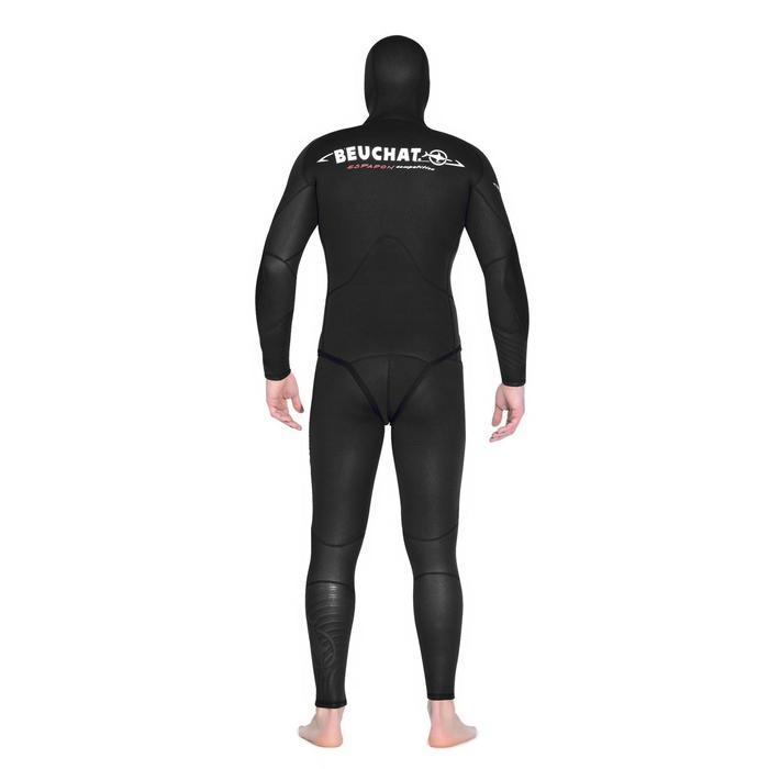 Vest voor harpoenvissen Espadon Competition in glad neopreen 7 mm