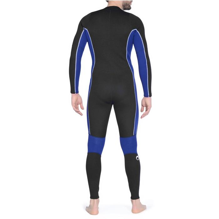 Combinaison intégrale de snorkeling homme 2 mm noire - 1175485