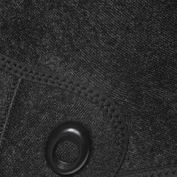 Duikvest SPF 100 voor harpoenvissen en vrijduiken, 5 mm, zwart/grijs - 1175489