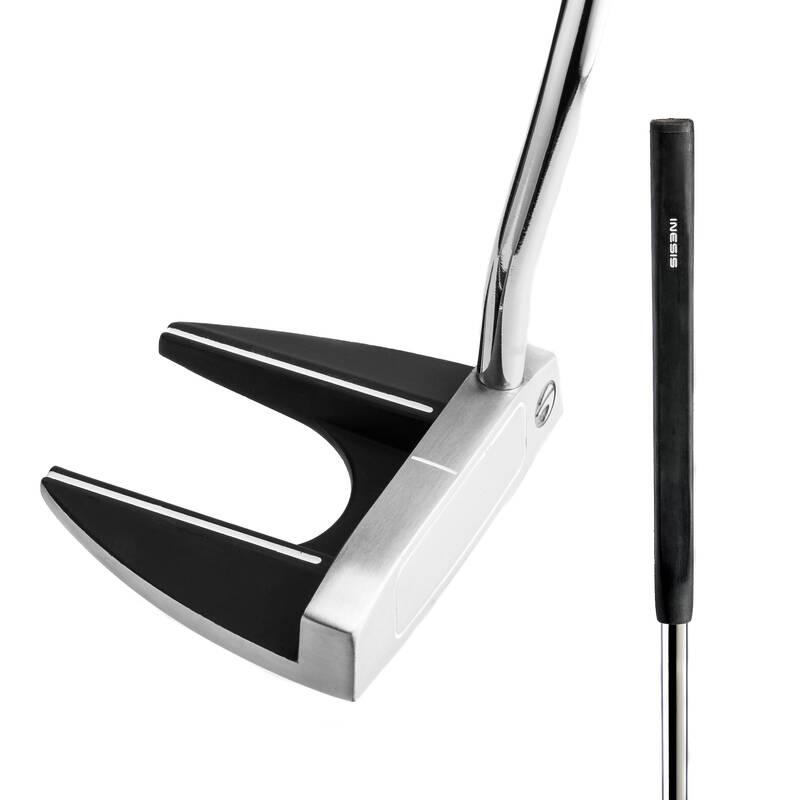GOLFOVÉ PUTTERY Golf - PUTTER MALLET PRO PRAVÁKY 100  INESIS - Golfové hole a sety