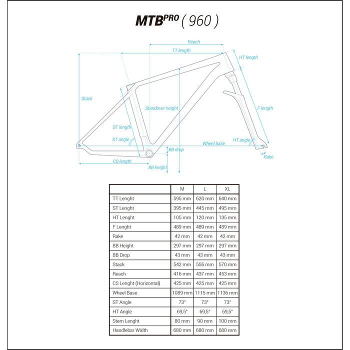 "VTT ROCKRIDER 900 GRIS/LIME 27,5"" - 1175522"