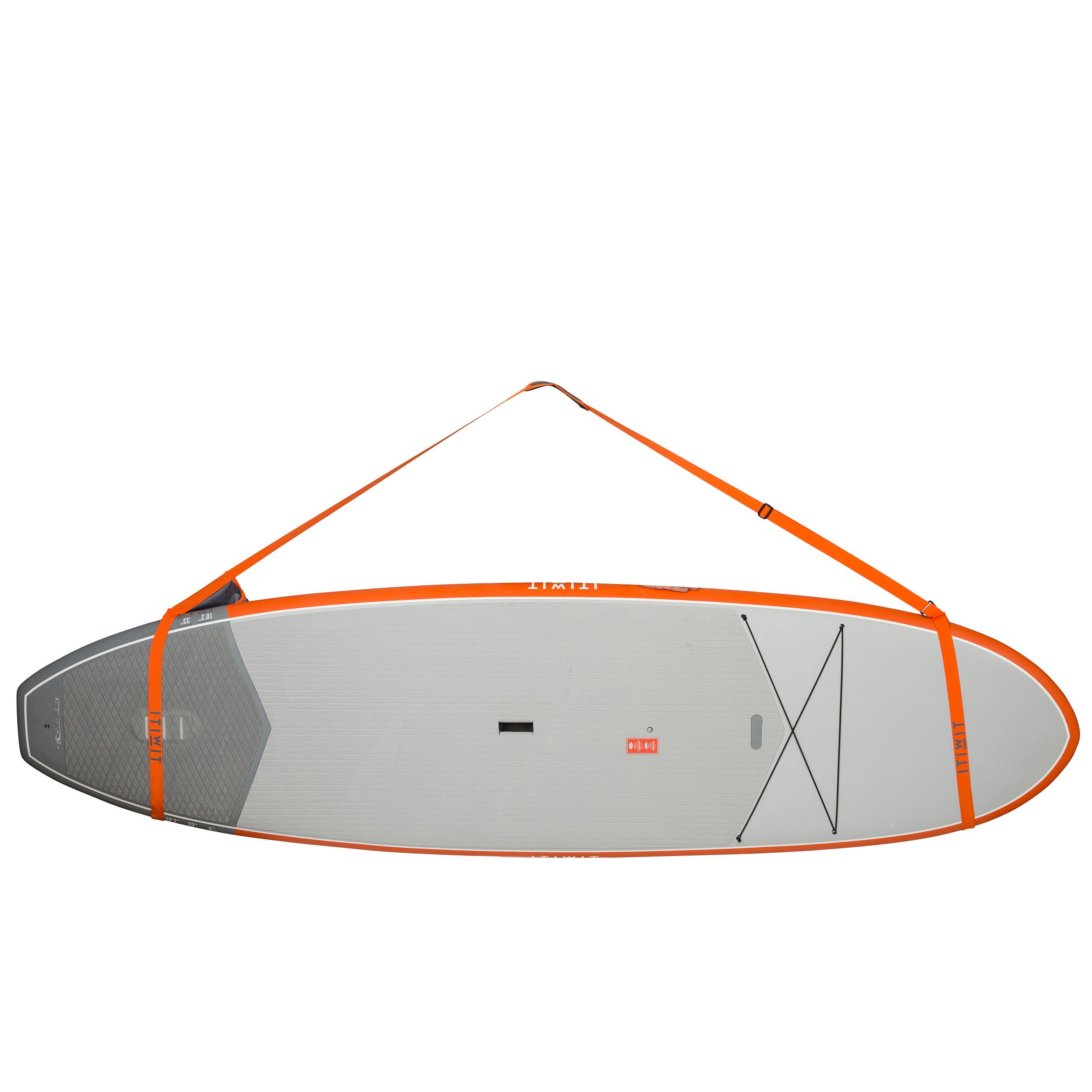 Itiwit Draagriem voor supboard oranje