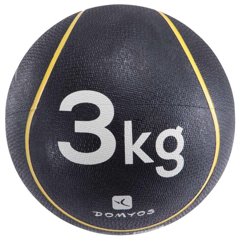 ECHIPAMENT DE TONIFIERE DE MICI DIMENSIUNI Fitness Cardio, Bodybuilding, Crosstraining, Pilates - Minge Medicinală 3 kg NYAMBA - Accesorii Pilates, Tonifiere