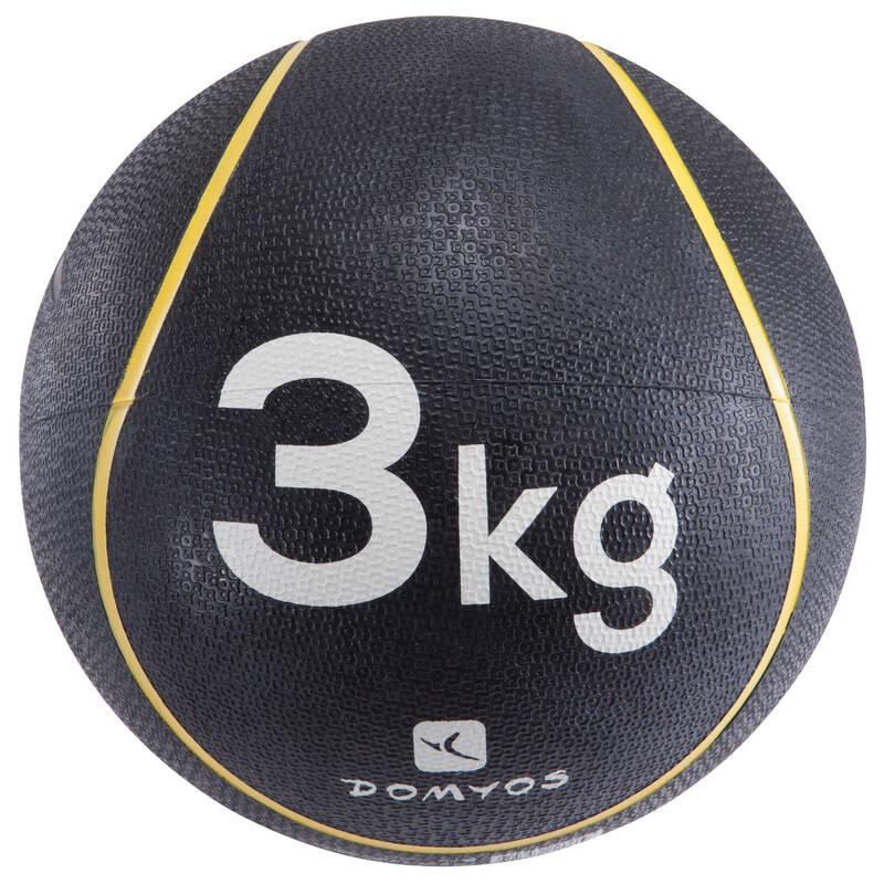VYBAVENÍ NA POSILOVÁNÍ Fitness - MEDICINBAL 3 KG NYAMBA - Posilování a kruhový trénink