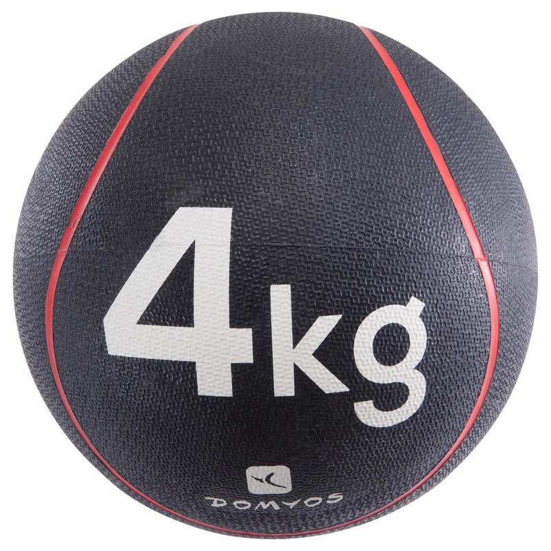MEDECINE BALLE TONEBALL LESTEE 4Kg/DIAMETRE 24cm