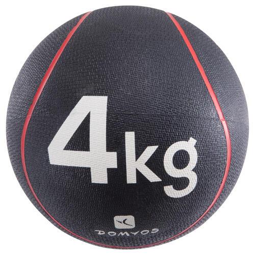 MEDECINE BALLE 4kg / diamètre 24cm toneball
