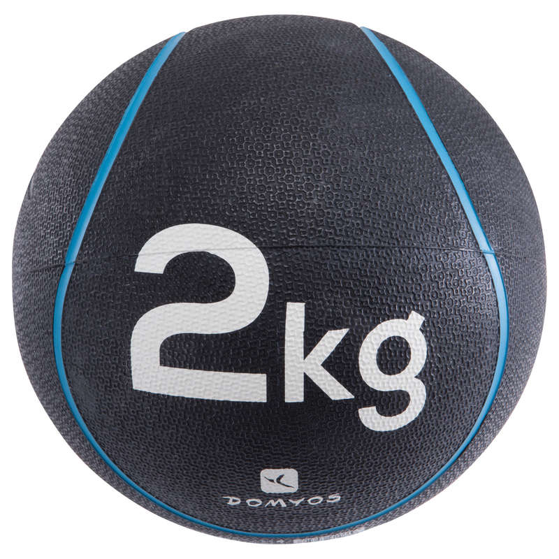 TONING EQUIPMENT Fitness and Gym - Medicine Ball 2 kg DOMYOS - Fitness and Gym