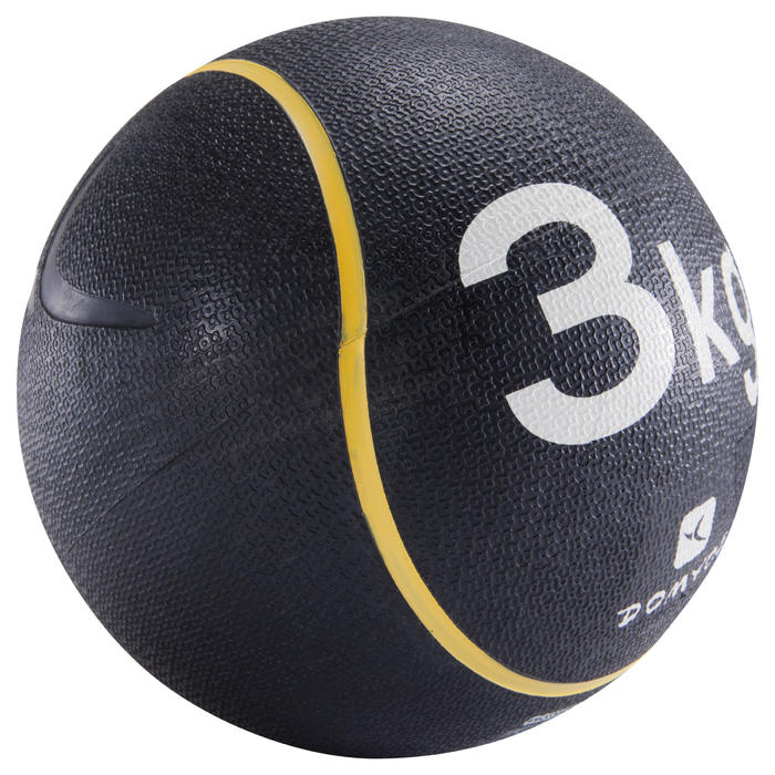3 kg皮拉提斯身形雕塑重量藥球